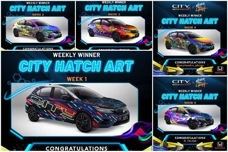 Kompetisi City Hatch Art